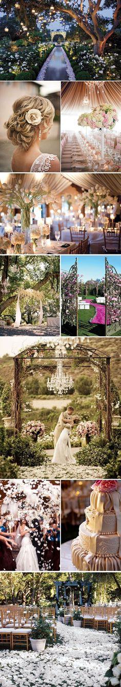 Not planning to get married but if I was going to ...it might look a little like this ... #enchantedforest#glamwedding Repinned by mikebdjmc http://mbeventdjs.com #weddingdj
