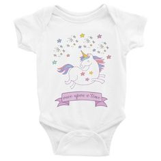 Once Upon A Time Baby Onesie ($26 AUD)  available in white, pink, navy, and grey from sizes 3-24 months.