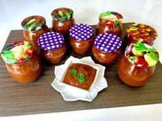 Słodko-kwaśny sos z cukinii - Blog z apetytem Ketchup, Salsa, Jar, Vegetables, Blog, Vegetable Recipes, Blogging, Salsa Music, Jars