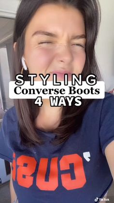Fashion Terms, Fashion Advice, Converse Boots, Fashion Makeover, Sweaters And Jeans, Future Fashion, Needful Things, Beautiful Children, Aesthetic Clothes