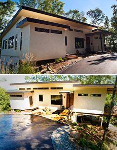 hempcrete exterior  http://comfortablehomedesign.com/contemporary-design-hempcrete-house/#