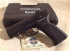 """New in box #Tanfoglio (made in #Italy) distributed by EAA Witness #9mm #semi-automatic #pistol. 3.6"""" barrel."""