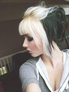 blonde black http://media-cache9.pinterest.com/upload/135037688797066289_YWGRKtb0_f.jpg unamuna hair dye jobs