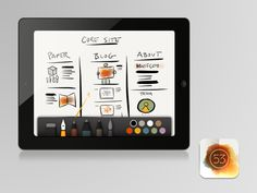 PAPER. Powerful drawing toolto paint, write, color,design,etc..with a simpleand intuitive interface.