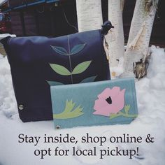 Hey Portland locals! Snow slowing down your holiday shopping? You can order online and select local pick up to grab your gift at your convenience- we'll even wrap it for you!