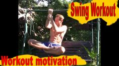 """My street workout on a swing :-)   Workout motivation. I woke up early in the morning and decided to be kneaded a little bit on the swing. My """"WorkOut - swing"""" Saturday morning! See my authors free and effective systems (Russian):   ===Sport BODY 2.0 - http://qoo.by/mwV  ===Slim figure in 30 days! - http://qoo.by/mwW  All health and happiness!  #Street_workout, #swing, #Workout #motivation #abs #sport #nicebody #my_body"""