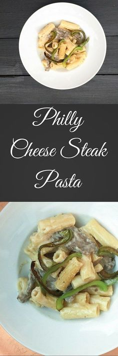Here is an ooey gooey Philly Cheese Steak Pasta Recipe for everyone in the house to enjoy. Your favorite sandwich in pasta form.