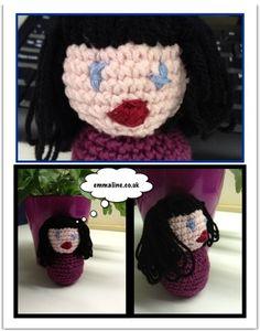 Amigurumi Caricature doll. #crochet #pattern #free