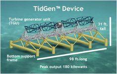 The composite cross flow turbines Hall Spars & Rigging is #manufacturing are key to ORPC's TidGen turbine generator unit (TGU) design. #energy
