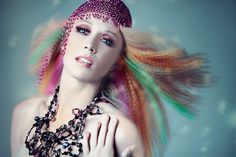 Hair Design Editorial Shoot for Flawless Magazine