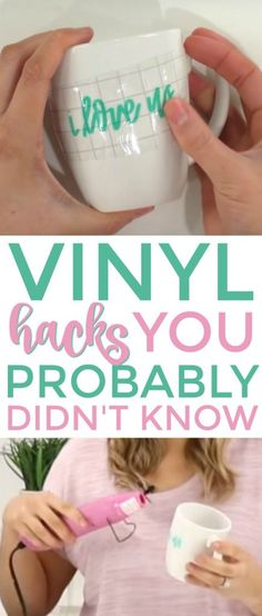 Vinyl hacks of which you probably knew nothing manufacturers will ler . - Vinyl hacks of which you probably did not know anything manufacturers will learn - Cricut Ideas, Cricut Tutorials, Clipart, Vinyle Cricut, Silhouette Cameo 4, Silhouette Files, Silhouette America, Silhouette Projects, Silhouette Machine