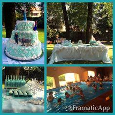 Little girl Frozen 4th Birthday Party!