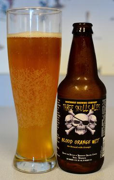 Northwest Brewing Company Three Skulls Ales Blood Orange Wit