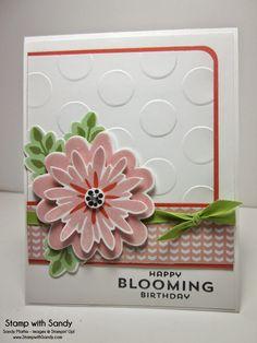 Flower Patch stamp set