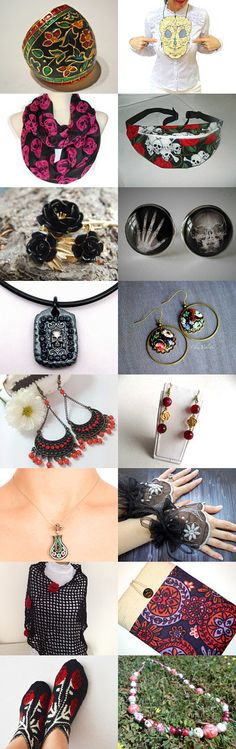 Day of the Dead by Denise Collins on Etsy--Pinned with TreasuryPin.com
