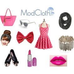 """Real Back To School Fashion Inspired By ModCloth"" by littlemixswagg on Polyvore"