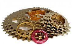 11-40 Titan Kassette Recon - 10 fach Kassette für SRAM, Shimano gold.