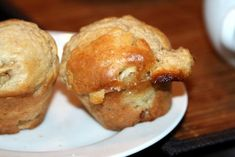 Feijoa and White Chocolate Muffins