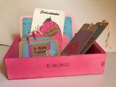 Caja tarjetas K-Mono