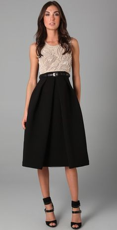 Preen By Thornton Bregazzi Ebony Dress