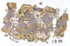 Mitsumasa Anno, children's writer and illustrator, was born in 1926 and grew up in western Japan in the town of Tsuwano, a small, isolated community located in a valley surrounded by mountains.