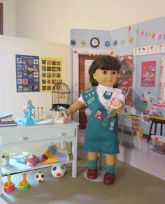 Paula�s American Girl Classroom Scene and Doll School Supplies Giveaway
