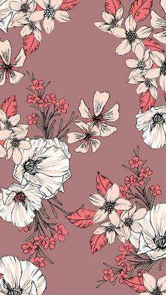 New Floral Pattern Wallpaper Tumblr Wallpaper, Of Wallpaper, Screen Wallpaper, Mobile Wallpaper, Nature Wallpaper, Animal Wallpaper, Wallpaper Quotes, Landscape Wallpaper, Wallpaper Ideas