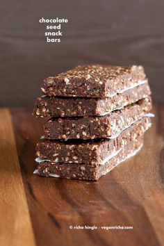 Super Seed Chocolate Protein Bars