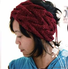 Free Headband Pattern | Free pattern: Vanessa Headband | Getting Purly With It