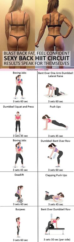 #womensworkout #workout #femalefitness Repin and share if this workout gave you  sexy toned back! Click the pin for the full workout.