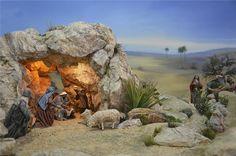 Fotos 8vo Certamen de la Natividad Nativity House, Birth Of Jesus, Blessed Virgin Mary, Willow Tree, Portal, Christmas Pictures, Mount Rushmore, Christmas Decorations, Miniatures