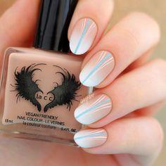 Matte-nude-white-gradient-nail-art-Lacc-fnug