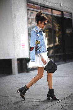 Chic Mix Street Style Outfits, Look Street Style, Street Style Summer, Casual Outfits, Cute Outfits, Fashion Outfits, Womens Fashion, Fashion Trends, Fashion Fashion