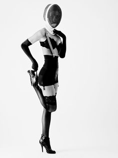 The fencing scene in Die Another Day inspired Akin Abayomi to create Spy Game, a shoot he both styled and photographed.