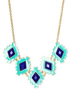 baublebar maritime necklace... the colors are fabulous