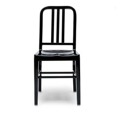 Originally designed by Emeco in 1944 for the U.S. Navy Ultra durable Aluminium Available in 3 colours: black, anodized, red Dimensions: Width 39cm depth 43 cm height 84cm Seat height: 46cm Our Navy stacking chair is a high quality reproduction made from steel metal and based on the original Emeco [...]