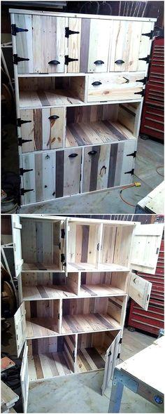 Такой шкаф можно монтировать в стену при строительстве дома..