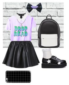 """""""Pastel goth mtf Dan Howell"""" by kymustdie ❤ liked on Polyvore featuring Topshop, Calvin Klein, As Is, Marc by Marc Jacobs, River Island, Trend Cool, Casetify, PB 0110, women's clothing and women's fashion"""