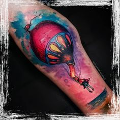 Russell Van Schaick Tattoos — This was one of my favorite albums growing up.... Disney Watercolor Tattoo, Tattoo Spirit, Disney Tattoos, Finding Yourself, My Favorite Things, Design, Albums, Van, Watercolour