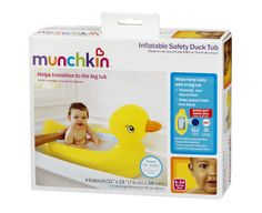 Amazon.com: Munchkin White Hot Inflatable Duck Tub: Baby