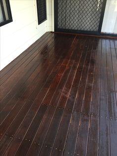 Deck oiling by Waterworx Pressure Cleaning Deck Cleaning, Timber Deck, Brisbane, Tile Floor, Hardwood Floors, Exterior, Wood Floor Tiles, Wood Flooring, Tile Flooring