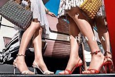 Prada bags and shoes, 2012