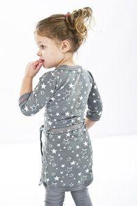 Marloes Grey Melee meisjes kleding Mooie grijze legging van het merk Quapi Kidswear uit de zomer collectie 2014 www.lotenlynn.nl