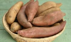 A batata doce possui betacaroteno e antocianinas - Imagem ilustrativa - Foto: Getty Images