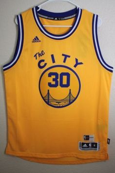 Golden-State-Warriors-Stephen-Curry-30-Swingman-Basquete-jersei-amarelo.  Renan Gil Laurindo · NBA Jerseys c248c8377
