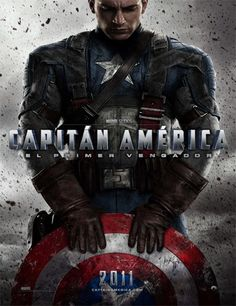 Poster de Capitán América: El primer vengador