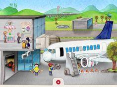 Wunderwimmelbuch: Mein Flughafen - landet in den Kinder App Charts (iPad/iPhone)