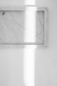 White marble tray by Hardware Restoration.