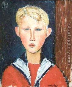 The Blue eyed Boy 2 by Amedeo Modigliani