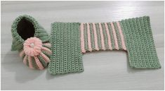 Crochet Amazing Baby Booties - Crafts Time Gilet Crochet, Crochet Cord, Crochet Baby Boots, Booties Crochet, Crochet Slippers, Easy Crochet, Knit Baby Booties, Crochet Shoes, Crochet Granny